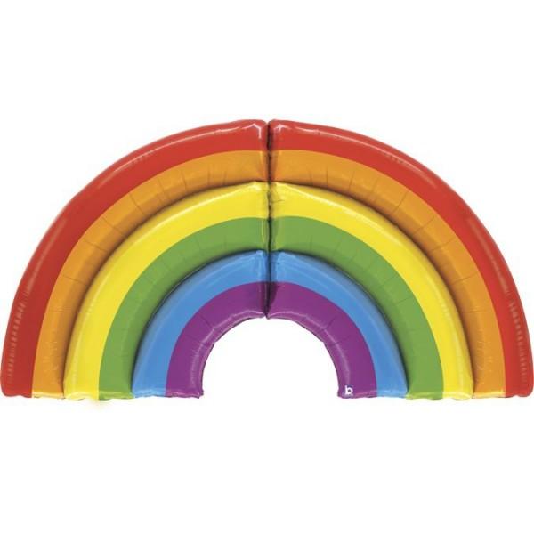 Betallic Folienballon Special Delivery Rainbow 152cm/5'