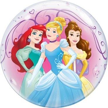"""Qualatex Bubbles Disney Princess 55cm/22"""""""