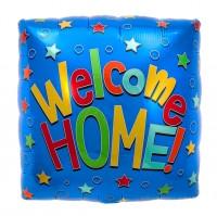 "Northstar Folienballon Welcome Home 18"""