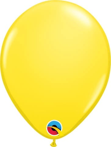 "Qualatex Latexballon Standard Yellow 13cm/5"" 100 Stück"