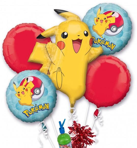 "Folienballon Helium Set ""Pokemon Party"""