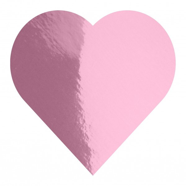 Goodtimes Folienkonfetti 3cm Herz 15g Rosa