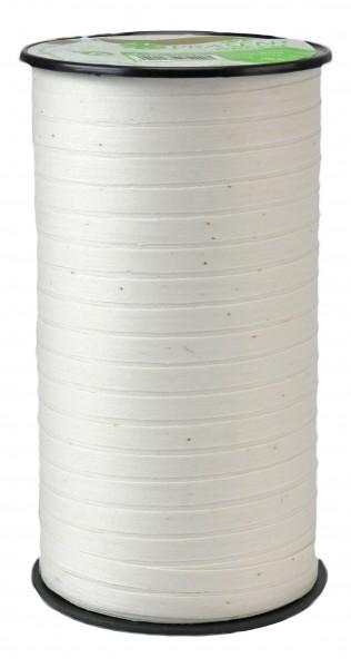 Pattberg Cottonfield Band 100m Länge x 5mm Breite Weiß
