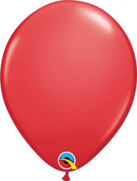 "Qualatex Latexballon Red 28cm/11"" 6 Stück"