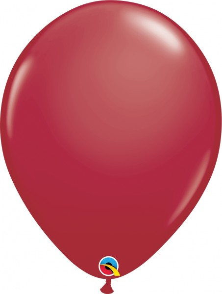 "Qualatex Latexballon Fashion Maroon 40cm/16"" 50 Stück"