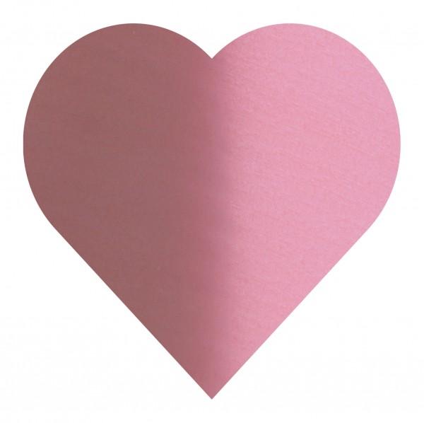 Goodtimes Folienkonfetti 3cm Herz 1kg Satin Rosa