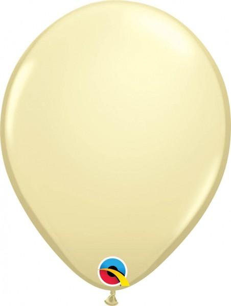 "Qualatex Latexballon Fashion Ivory Silk 28cm/11"" 100 Stück"