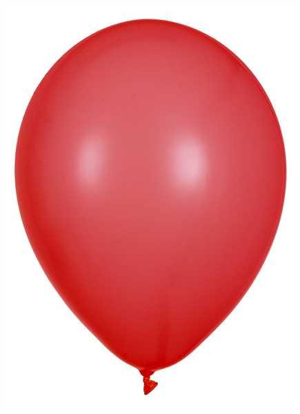 Latex Luftballons, Rot, 30cm Ø, 100 Stück