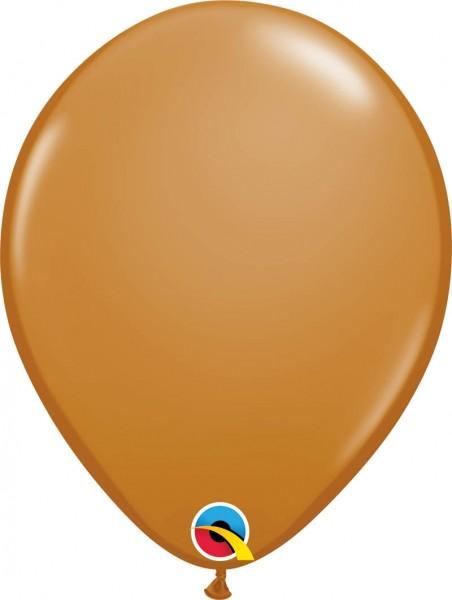"Qualatex Latexballon Fashion Mocha Brown 28cm/11"" 100 Stück"