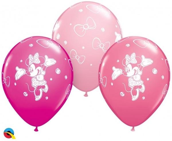 """Qualatex Latexballon Minni Assortment 28cm/11"""" 25 Stück"""