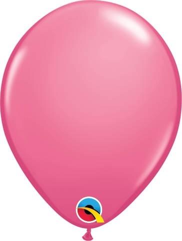 "Qualatex Latexballon Fashion Rose 13cm/5"" 100 Stück"