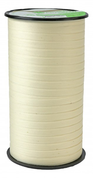 Pattberg Cottonfield Band 100m Länge x 5mm Breite Creme
