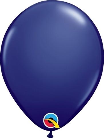 "Qualatex Latexballon Fashion Navy 13cm/5"" 100 Stück"