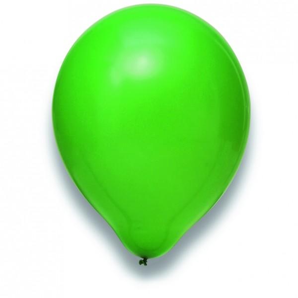 "Globos Luftballons Grün Naturlatex 30cm/12"" 100er Packung"