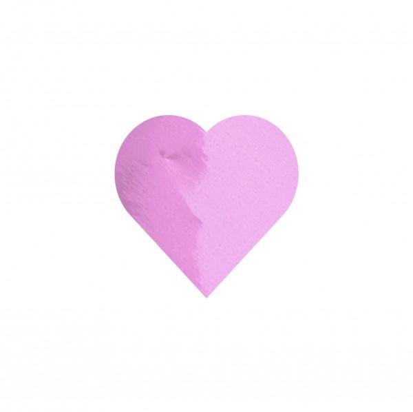 Goodtimes Folienkonfetti 1,7cm Herz 100g Pink
