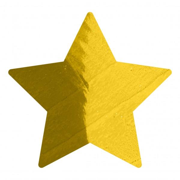Goodtimes Folienkonfetti 1,7cm Stern 100g