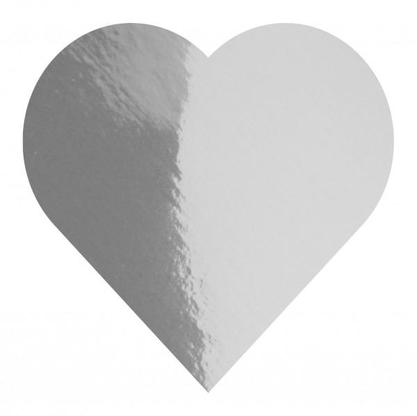 Goodtimes Folienkonfetti 3cm Herz 100g Silber