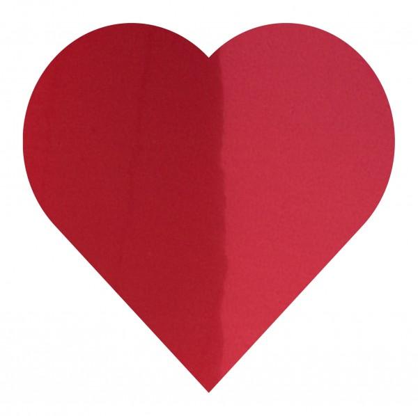Goodtimes Folienkonfetti 3cm Herz 1kg Rot