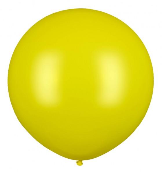 Riesenluftballon, Gelb, 160cm Ø