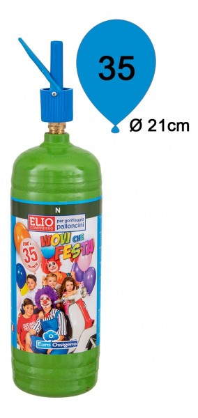 Ballongas Helium Einwegflasche 0,25m³