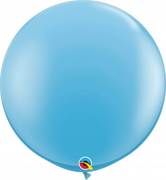 Qualatex Latexballon Standard Pale Blue 90cm/3' 2 Stück