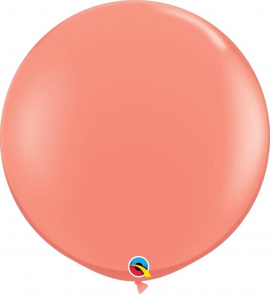 Qualatex Latexballon Fashion Coral 90cm/3' 2 Stück