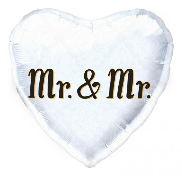 "Northstar Folienballon Mr. & Mr. Heart 45cm/18"""