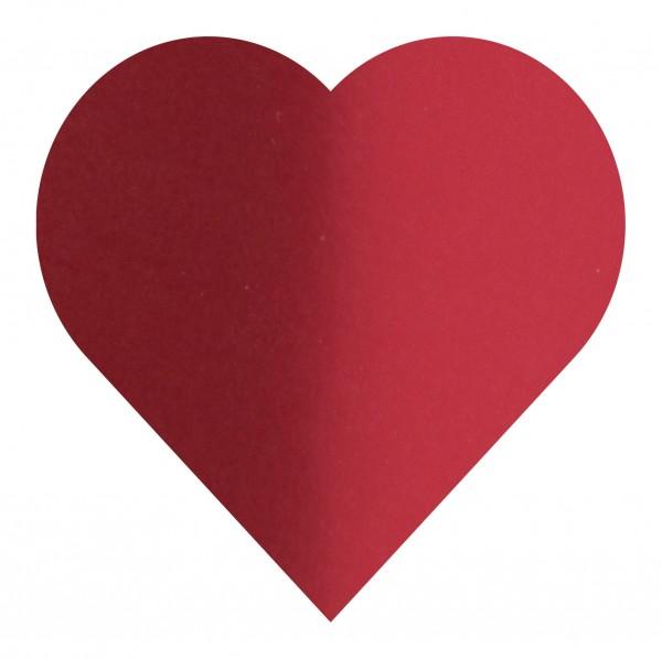 Goodtimes Folienkonfetti 3cm Herz 1kg Satin Rot
