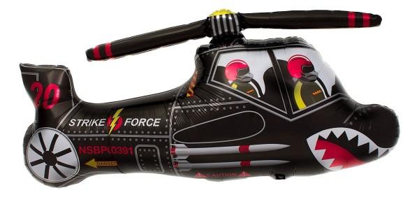 "Northstar Folienballon Black Chopper 90cm/36"""