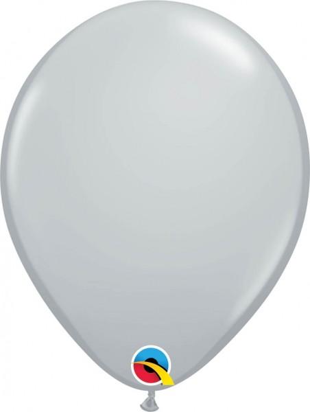 """Qualatex Latexballon Fashion Grey 28cm/11"""" 100 Stück"""
