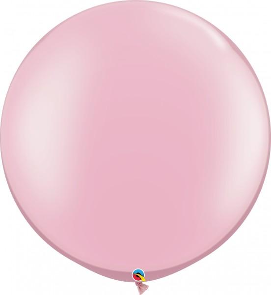 "Qualatex Latexballon Pastel Pearl Pink 75cm/30"" 2 Stück"