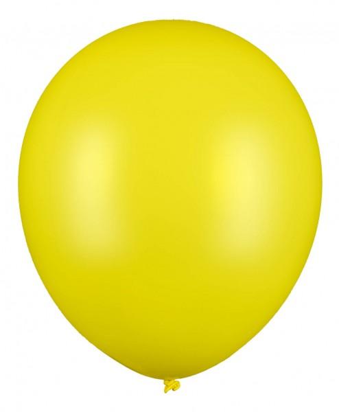 Riesen Luftballon, Gelb, 60cm Ø