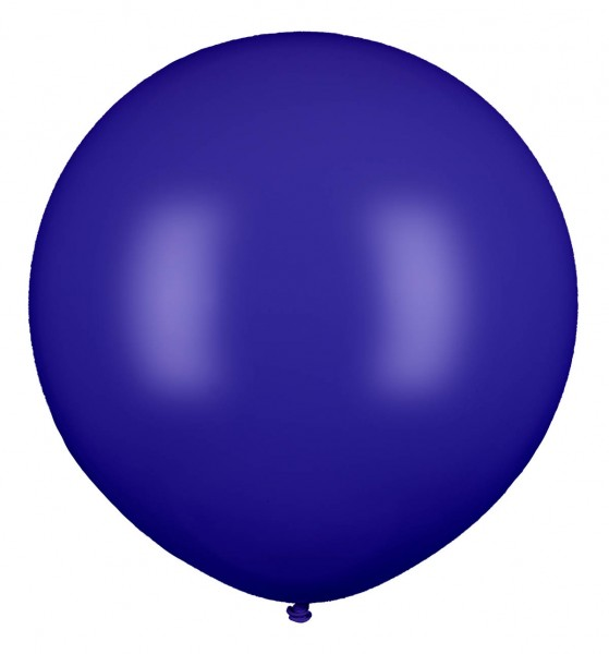 Riesenluftballon, Dunkelblau, 210cm Ø