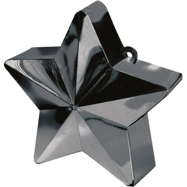 Ballongewicht Stern Schwarz 150g/5,3oz