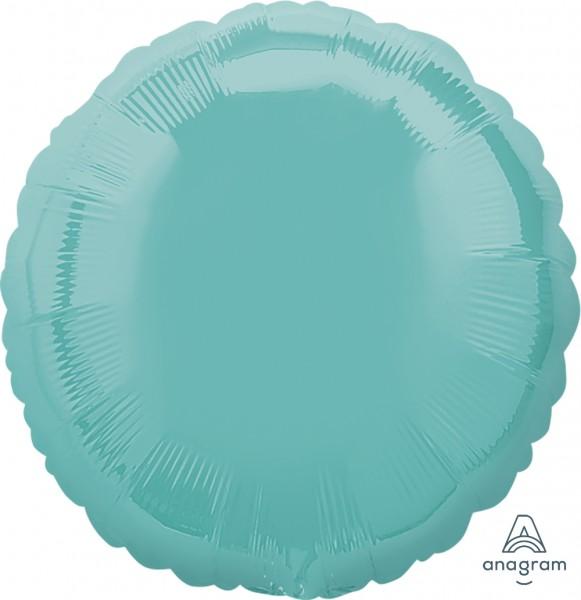 "Anagram Folienballon Rund Robins Egg Blue 45cm/18"""