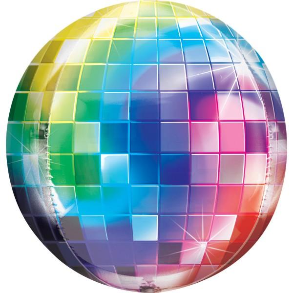 """Anagram Folienballon Orbz Disco Ball 40cm/16"""""""