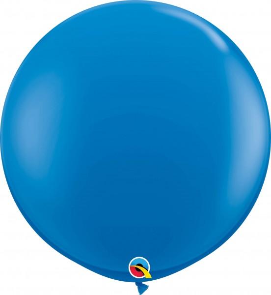 Qualatex Latexballon Standard Dark Blue 90cm/3' 2 Stück