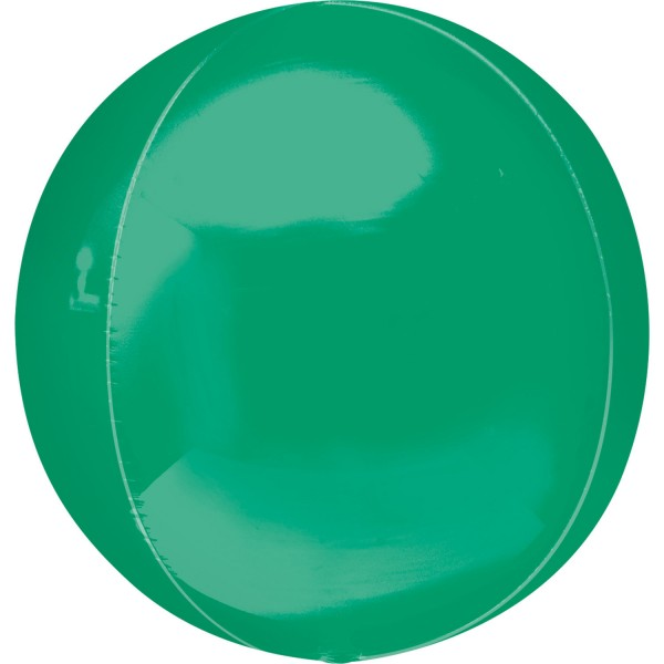 "Anagram Folienballon Orbz Grün (Green) 40cm/16"""