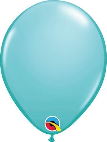 """Qualatex Latexballon Fashion Caribbean Blue 13cm/5"""" 100 Stück"""