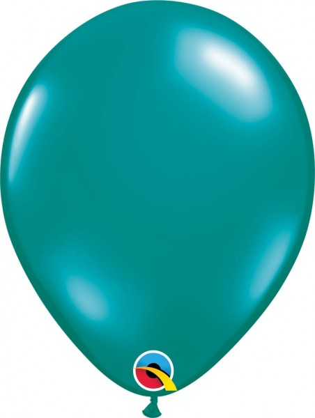 """Qualatex Latexballon Jewel Jewel Teal 28cm/11"""" 100 Stück"""