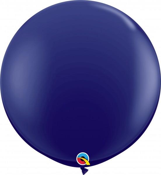 Qualatex Latexballon Fashion Navy 90cm/3' 2 Stück