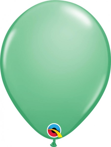 "Qualatex Latexballon Fashion Wintergreen 28cm/11"" 100 Stück"