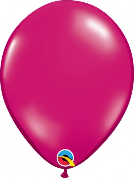 "Qualatex Latexballon Jewel Magenta 28cm/11"" 100 Stück"