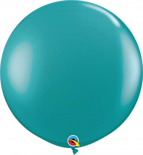 Qualatex Latexballon Jewel Teal 90cm/3' 2 Stück