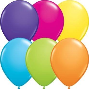 """Qualatex Latexballon Tropical Assortment 13cm/5"""" 100 Stück"""