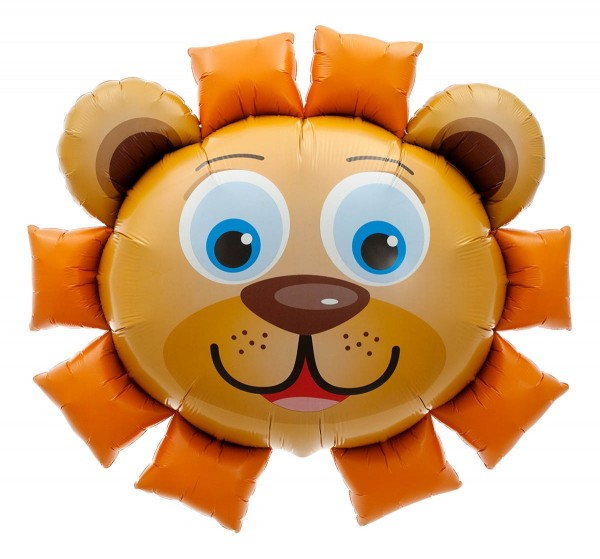 "Northstar Folienballon Lion Head 35"""