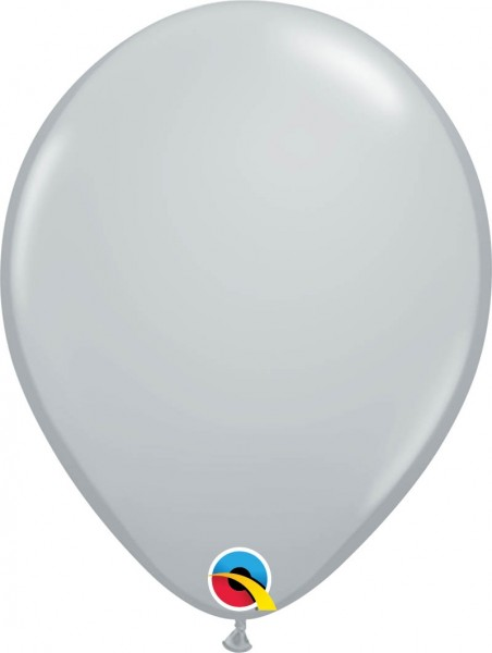 "Qualatex Latexballon Fashion Gray 28cm/11"" 100 Stück"