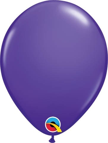 "Qualatex Latexballon Fashion Purple Violet 13cm/5"" 100 Stück"
