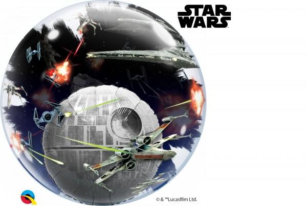 """Qualatex Bubbles Star Wars: Death Star 61cm/24"""""""