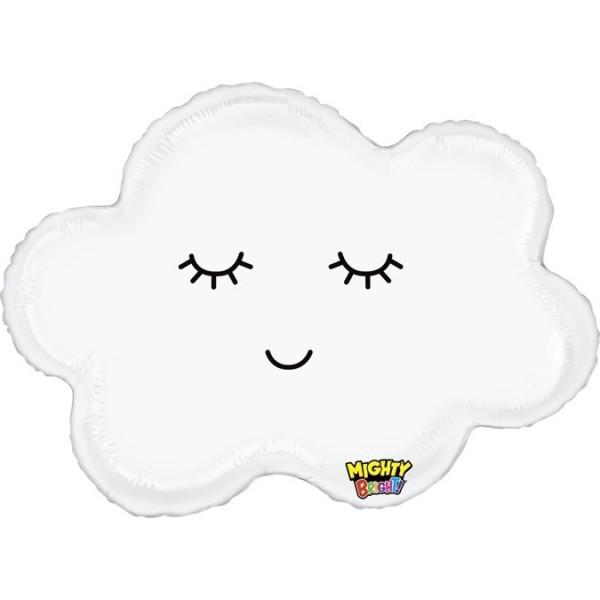 "Betallic Folienballon Mighty Sleepy Cloud 76cm/30"""